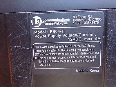 1PCS  L-3 communications mobile vision   MVC-310NL  Flashback HD camera