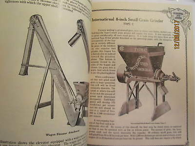 1910s International Harvester Feed Grinders Catalog Manual Gas Engine too 3