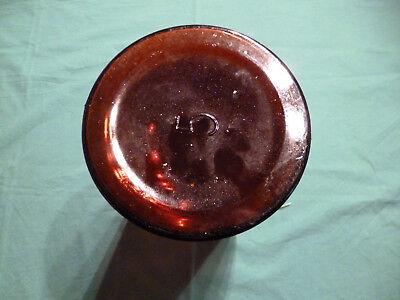 Alte Laborglasflasche Braunglas m. Schliff-Stopfen (5 Liter), ungebraucht 6