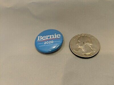 "Bernie Sanders 2020 Buttons/Pin Set Of 10, 1"" diameter pins. Free Shipping 2"