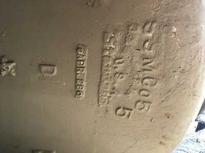 Antique 5' Cast Iron White Porcelain Claw foot Bathtub Old Vtg Standard 501-18E 11