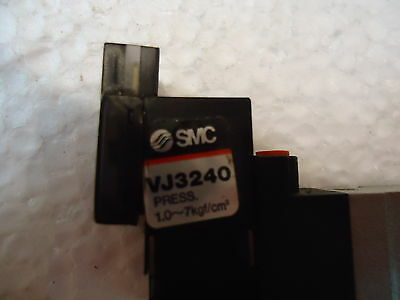 SMC VJ3240 SOLENOID VALVE, PRESS: 1.0,,,,,7Kgf/cm/2. 2