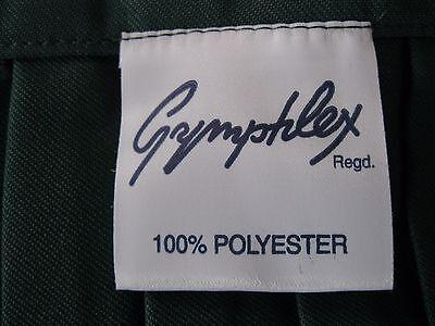 "GYMPHLEX Girls/Ladies BOTTLE GREEN School Gym Kilt/Skirt W27-30"" 13+ yrs- NEW! 6"