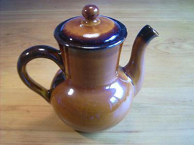 ST / SAINT CLEMENT Provencal Cognac (glänzend) braun Kaffeekanne 5015-2 (0,75 l)