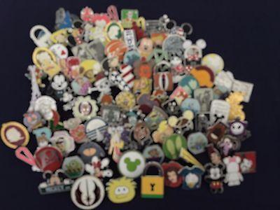 Disney Trading Pins Lot Of 100 -100 Tradable - No Duplicates - Fast U.s. Shipper
