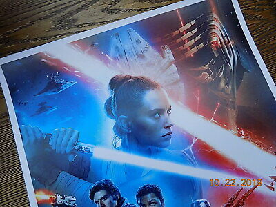 """Star Wars: The Rise of Skywalker (11"""" x 17"""") Movie Collector's Poster Print (T2) 5"""