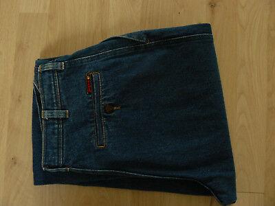 Jeans Vintage 1980er Jinglers dunkelblau Gr.40 Karotte 100% Baumwolle