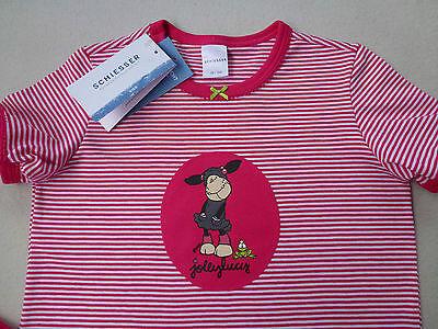 SCHIESSER Mädchen Pyjama kurz NICI 100% Baumwolle Gr. 104-140 Schlafanzug NEU 2