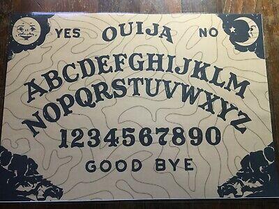 Tavola Ouija classica per sedute spiritiche con istruzioni in Italiano - wicca 3