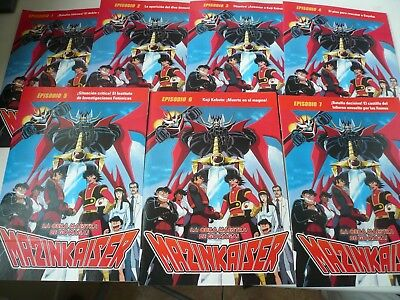 Mazinger Z 92Dvd Clasica +Mazinkaiser 7 Dvd Version Original 70 Remasterizada 2