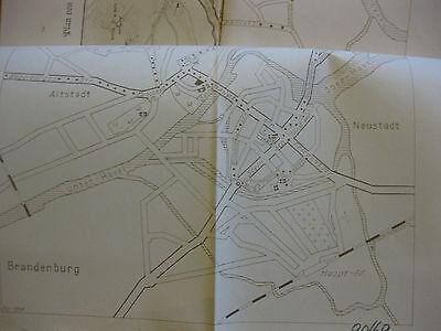 Volkspolizei Druckgenehmigung Exkursionsführer Brandenburg Päd.Hochschule Potsda