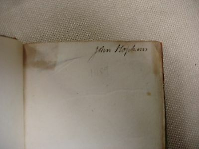 An Inquiry Concerning... signed by John Hopkins and Samuel Hopkins (Authors) 2 • CAD $1,575.00