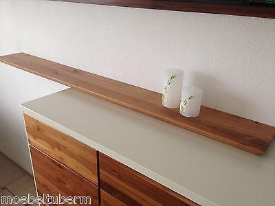 Aufbewahrungsregal Wandboard Eiche Massiv Holz Board Regal