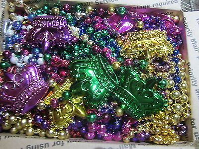 Mardi Gras Beads Necklaces lot  Authentic New Orleans 14+ pounds assorted 4