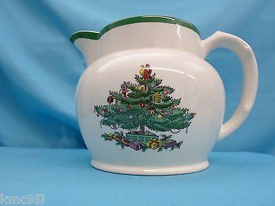 Spode Christmas Tree Water Sauce Jug 1-1/2 Pint with Original Box 4