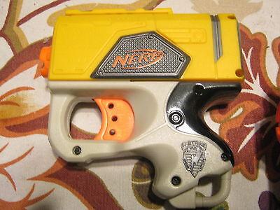 3 Gun Lot Nerf Guns N-Strike Maverick Rev-6 Dart Tag Plus 5 Soft Darts