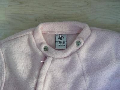 Pullover Fleece rosa Gr.74 Hose weiß gefüttert Gr.74 für Puppen Künstlerpuppen 2