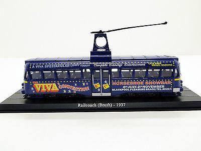 Atlas tram railcoach brush 1937 new in box