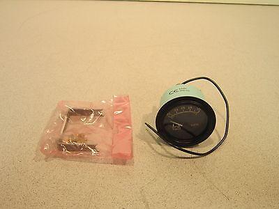 Teleflex Voltmeter 53487, 20-32V, Appears Unused, 6620012853368, Hardware Incl 5