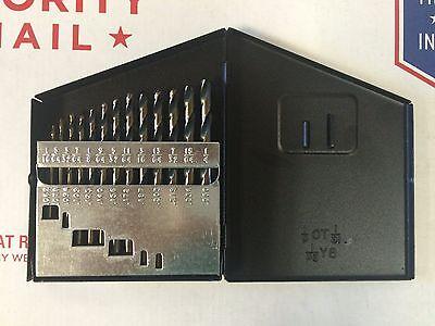 "Norseman 4PC Super Premium Drill Bit Set 9//16 5//8 3//4 1/"" #12250 W//CUTTING OIL"