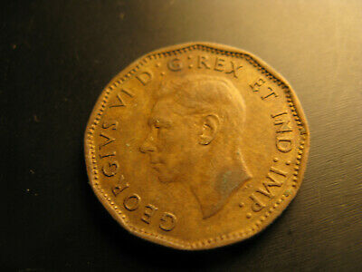 Canada 1943 Tombac WWII Victory Memorial 5 Cent Coin. 2