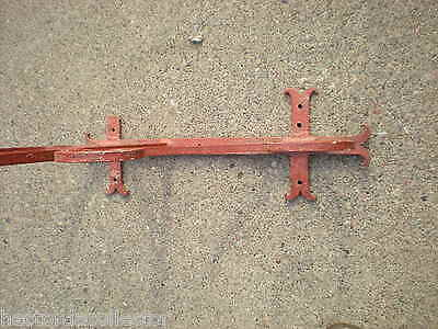 "SALE Large 55"" 1800s Antique Wrought Iron Sign Bracket Cream City Brick Milwauke"
