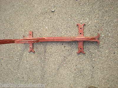 "SALE Large 55"" 1800s Antique Wrought Iron Sign Bracket Cream City Brick Milwauke 9"