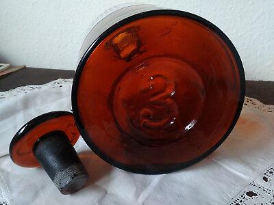 Apothekerflasche;Liniment. ammoniat;3 ltr.;braunglas;geschl. Stöpsel;Loft;Deco