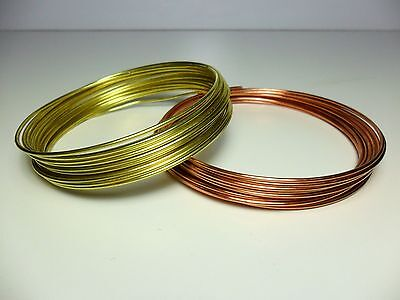 Filo Rame matassa mm 1 / 2 / 2,5 / 3 / 4 mm DIY Soft Copper wire jewels Hobby 4