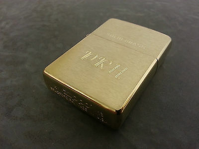 Personalised Zippo Lighters, free engraving, fast free delivery. Genuine Zippo 3