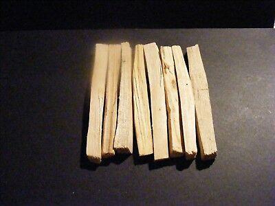 Palo Santo Sacred Wood🌕 Organic Incense Sticks X 8 +1 Free = 9 + Pouch+ Charm 5