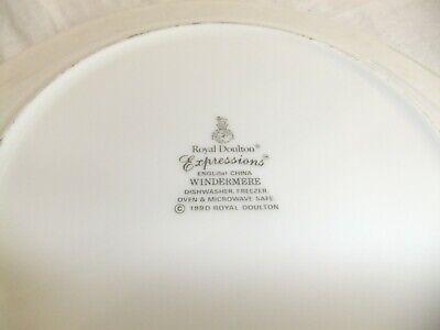 C4 Porcelain English China Royal Doulton Expressions - Windermere (1990) - 9B3B 3