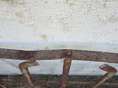 Antique Victorian Iron Gate Window Garden Fence Architectural Salvage Door #154 5