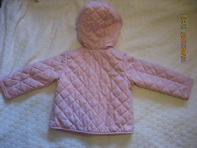 Baby Gap Lovely Pink  Quilted Spring/Summer Lightly Padded Coat Jacket  2T(#090) 5