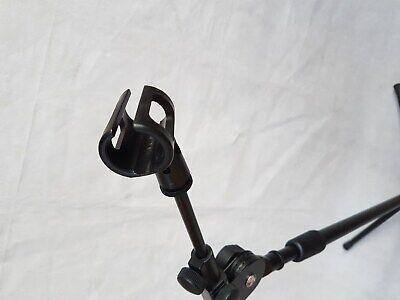 Mikrofonständer + GALGEN + KLEMME Universal Stativ schwarz für alle Mikrofone 2