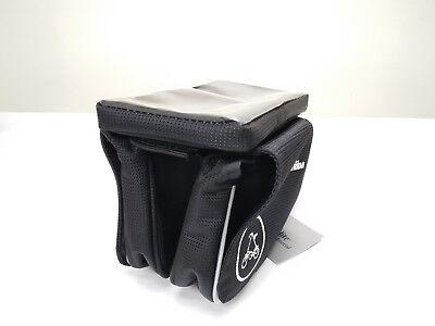 """Black Strida Frame Pannier Bag for 6/"""" mobile phone"""
