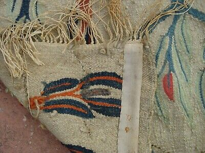 Hand Knotted Vintage Egyptian Kilim Weaving Rug from Ramses Wissa Wassef shops 9