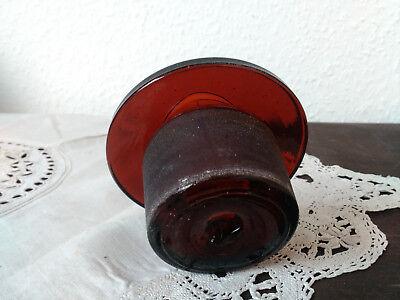 Apothekerflasche;Verschluß;geschl. Glasstöpsel;8,0 cm, 7 2