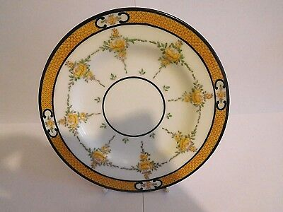 Early 20Th Century Mintons Yellow Roses Cup Saucer And Plate Trio 5