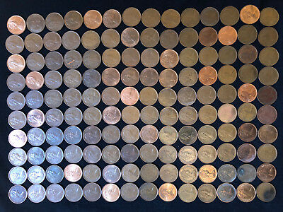 Decimal Queen Elizabeth Ii - Half Pennys ,Q96 1971 To 1982 2
