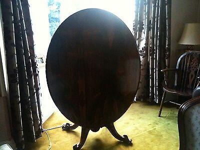 victorian carved mahogany tilt top oval breakfast table 8