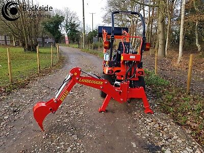LANDLUGGER BH10 COMPACT Tractor Backhoe Attachment | Compact Tractor  Attachments