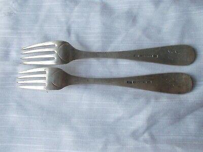 2 FREDERIK JULIUS BRINCK 1856 DINNER FORKS Norway 830 Sterling flatware 3