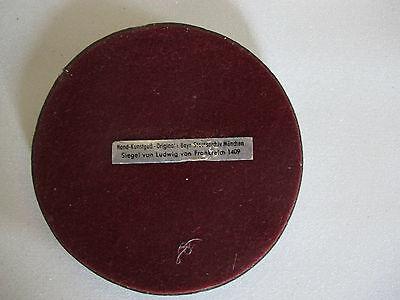 Siegel Petschaft Ludwig von Frankreich Staatsarchiv München 9cm Durchmesser