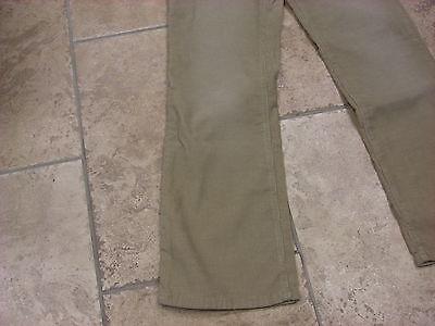 "Bnwt Boys Ben Sherman Cream Distressed Wash Bootcut Cords  Waist 27""  Leg R 4"