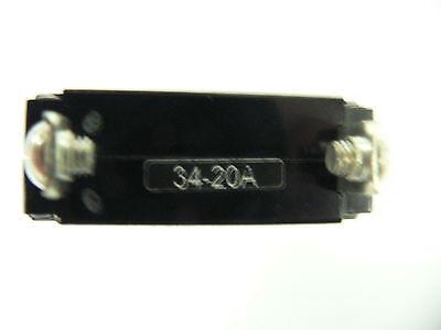 NEW OEM SEA Ray Breaker Rocker 20 Amp Sgl Pole White Ac/dc Searay Part #  331991