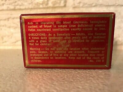 Savatan Pills The Pfeiffer Co. St. Louis Quack Medicine NOS Blood improvement 4