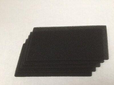 2 x Schwammfilter HX Filter f. Bauknecht  481010354757 Filtermatte Schaumstoff X