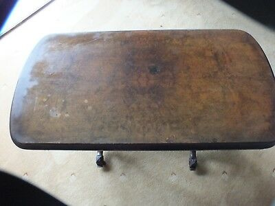 Antique Victorian Walnut Card/Games Table. 2