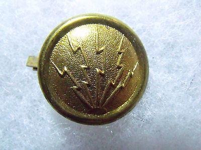Scarce Span Am Artillery Electrician Sergeant Helmet Overlay & Side Buttons 5